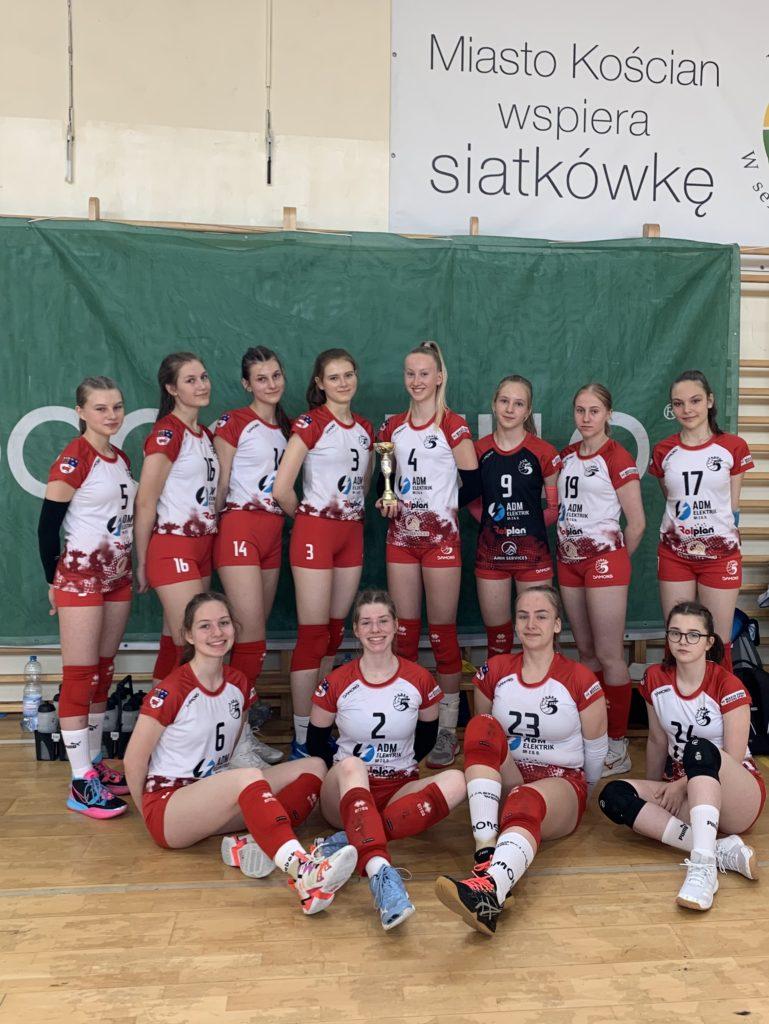Młodziczka 5 zespołem Mistrzostw Wielkopolski!